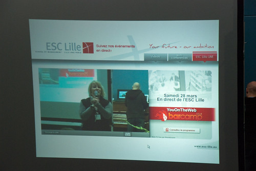 YouOnTheWeb à l'ESC Lille