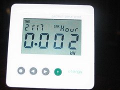 Effergy Earth hour day KW/h