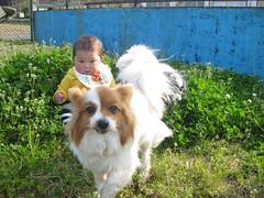 A day with my nephew, Twinkle (romiozeki) Tags: twinkle shun 20090329 romiozeki