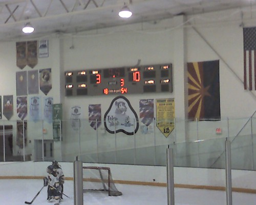 Not the best hockey game ever