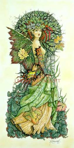 Tree Spirit 1 by Linda Ravenscroft