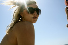 Ali (teepea) Tags: light beach sunglasses angel naked haha stolen earrings bliss shining