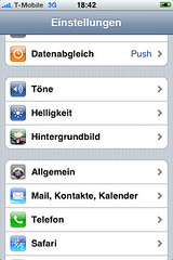 VPN-Konfiguration (SwissVPN) für das Apple iPhone
