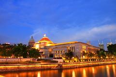 Dewan Parlimen ( Parliament House Singapore) (Mel Mijares) Tags: singapore earthasia boatquaysingaporeparliamenthousedewanparlimen