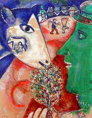 Marc Chagall, I and the Village
