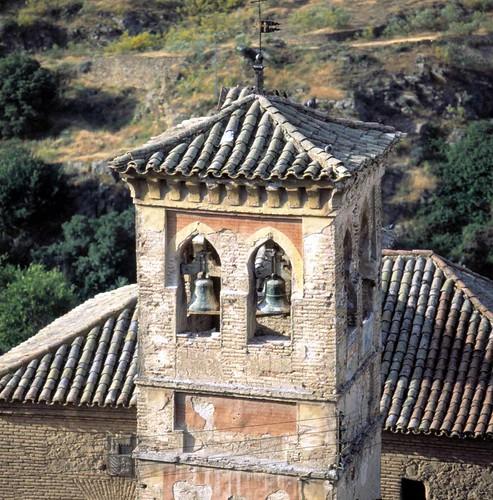 Iglesia de San Cipriano antes de su restauración. Foto de José María Moreno