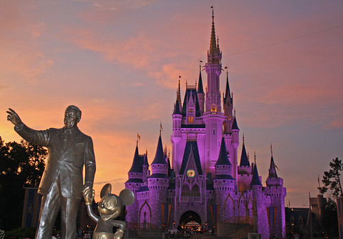 Disney World trip - day 7 - Walt and Mickey