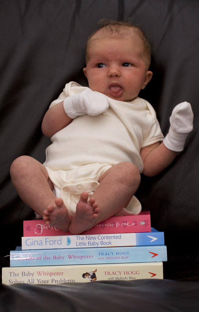 31/365 - Baby + Books = Baby Books