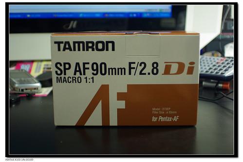 (開箱)Tamron SP AF 90mm F/2.8 Di MACRO(不專業)