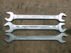 Wrenches (mr_blvd) Tags: wrench gedore wiesemann hazet doppelmaulschlssel