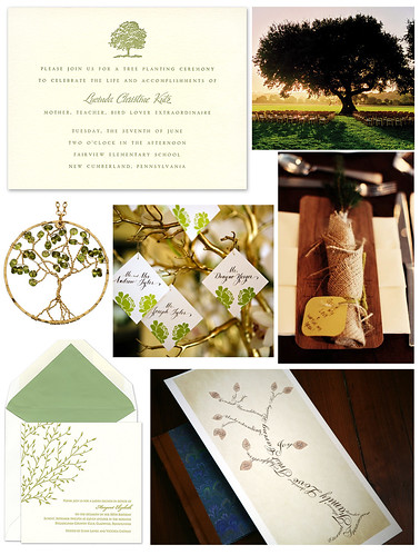 Flourishing Family Tree Wedding