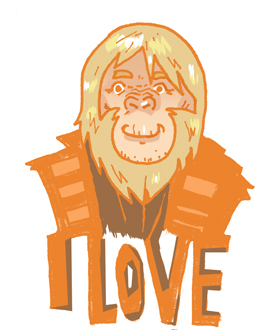 I love you, Dr.Zaius!