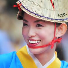 YOSAKOI (ajpscs) Tags: street summer portrait girl face festival japan asian japanese tokyo nikon asia harajuku 日本 nippon 東京 matsuri omotesando yosakoi meijijingu はらじゅく 人 d300 原宿 folkdancefestival superyosakoifestival よさこい ニコン ajpscs