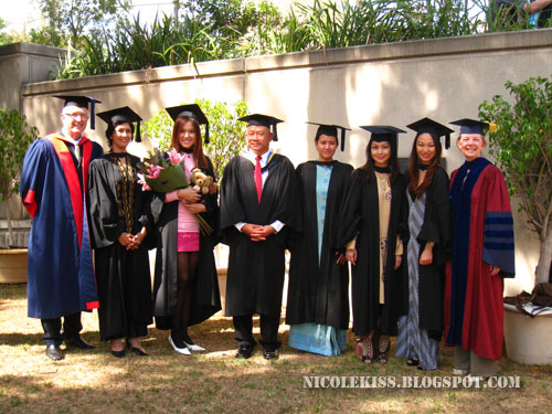 group photo with postgraduates