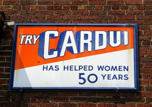 Try Cardui!