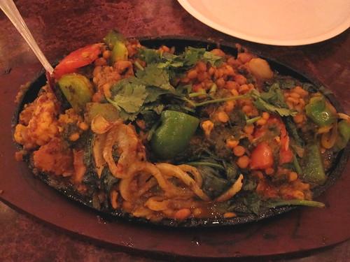 sizzling veggies