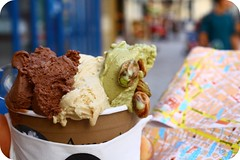 Amorino (Mgika) Tags: paris bokeh map plan icecream bacio glace fagyi pistache noisette trkp summer2009