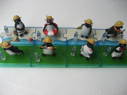 Suica Penguin Figures in the Summer Version