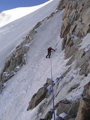 Eperon Frendo (RobertMcMurray) Tags: mountains alps climbing alpine chamonix montblanc alpinism chamonixaiguilles frendospur