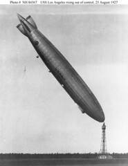 USS Los Angeles Going Tail-up (lazzo51) Tags: aviation science usnavy blimps airships zeppelins luftschiff dirigibles zr3 usslosangeles lz126