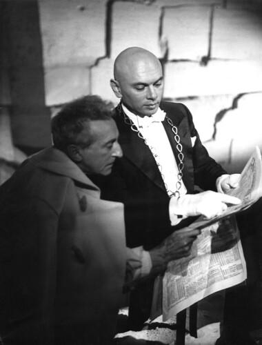 Jean Cocteau, Yul Bryner