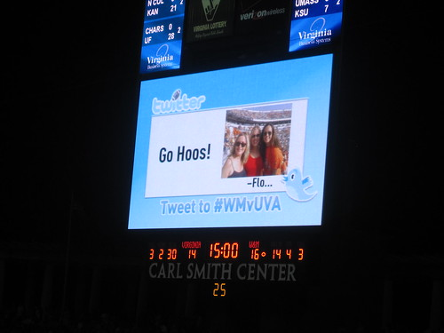 UVa lets fans interact via Twitter at football games