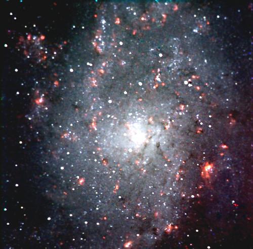 """M 33, galaxy in """"Triangulum"""" constellation"""