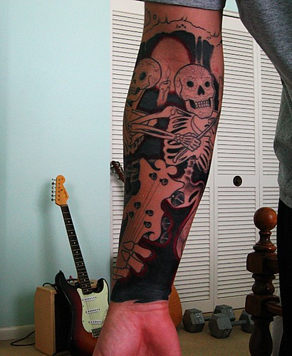 Tattoo Sleeve - Neil Powers - Mom's