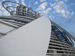 Grand Funnels (octopub) Tags: cruise sky clouds canon ship ixus funnel liner grandprincess canonixus95is