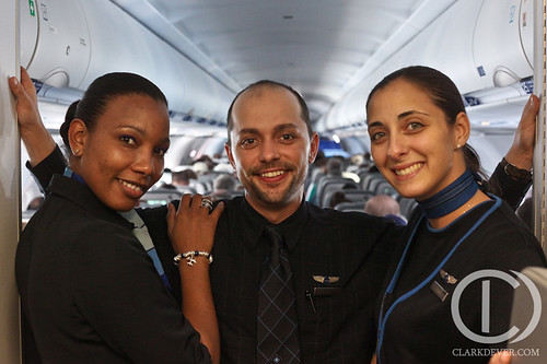 Our Flight Crew - Ronalee I., Jim M., and Lauren H.