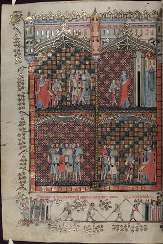 The Romance of Alexander 196v MS. Bodl. 264