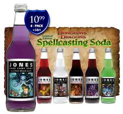 Dungeons & Dragons Jones Soda