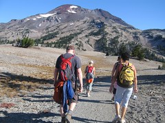 The Hiking Party (Elk Lake, Oregon, United States) Photo
