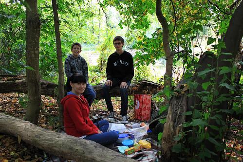 Picnic on Hidden Pond