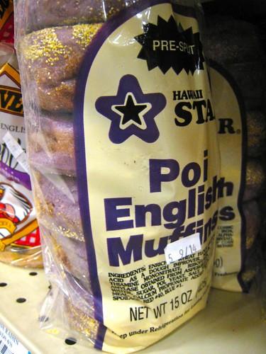 Poi... english muffins?