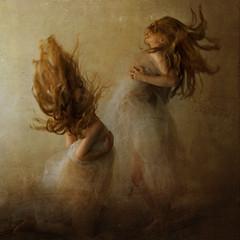 the lion and the lamb (brookeshaden) Tags: multiplicity passion opposites attract clone struggle emerge selfie agression repel decend brookeshaden