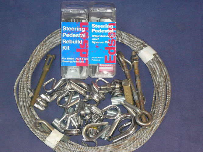 the complete steering rebuild, maintenance, and spares kit