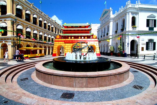 議事亭前地, Macau