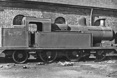 Ex North Staffs Railway 0-6-2T NCB Walkden KENNETH 20 Sept 1964 (pondhopper1) Tags: blackandwhite white black steam railways ncb uksteam 062t