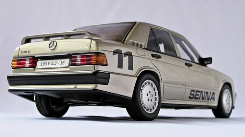 1984 mercedes benz 190e. Mercedes-Benz 190E 2.3-16 Nurburgring 1984 Winner
