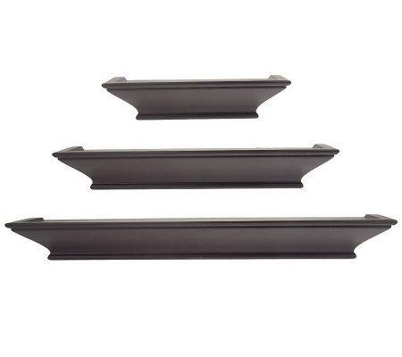 QVC v23341 Decorative Ledges with Level-Line