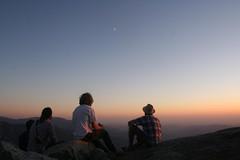 rising (heythisisntpunchflavor) Tags: camping sunset boys pretty joey brian steve thesky kc sequoia kingscanyon themoon morrowrock climbingonrocks