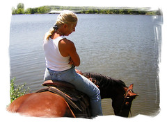 Last Day of Summer (jdawn1982) Tags: wood summer camp horse lake 2004 mood sad end kansas ymca rider flinthills wrangler elmdale chasecounty