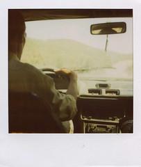 taxi to ouzoud (renbian) Tags: africa summer color film polaroid sx70 colore state taxi 600 nd verano marocco afrika marruecos pola uda instantphotography kolorea piloto autista chofer polaroidphotography cascadasdeouzoud filtter pelicula600 gidaria