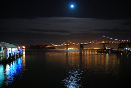 Ferry Terminal and Bay Bridge - San Francisco