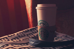 Coffee Addiction.. (- M7D . S h R a T y) Tags: hot coffee hotchocolate starbucks wordsbyme allrightsreserved milanobrand