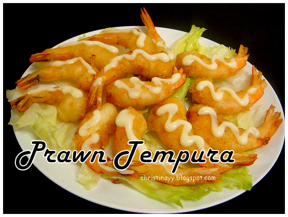Our 5th Anniversary: Prawn Tempura