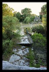 Bridge under troubled water......