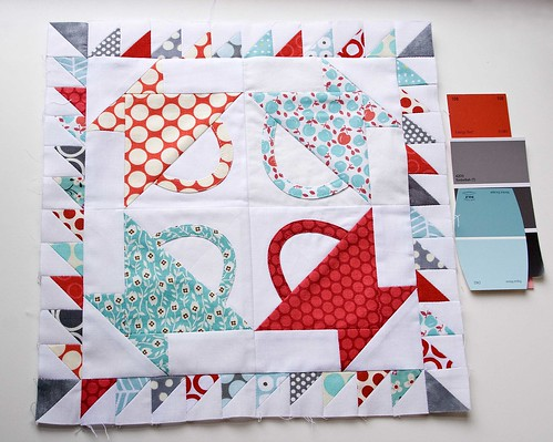 Paint Chip Challenge Quilt Block by VeronicaMade