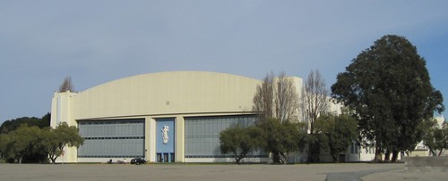 Pan Am hangar in San Francisco